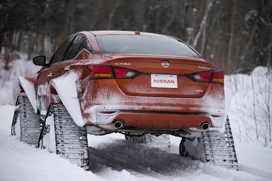 Nissan Altima-te Ready to Tackle the Great White North
