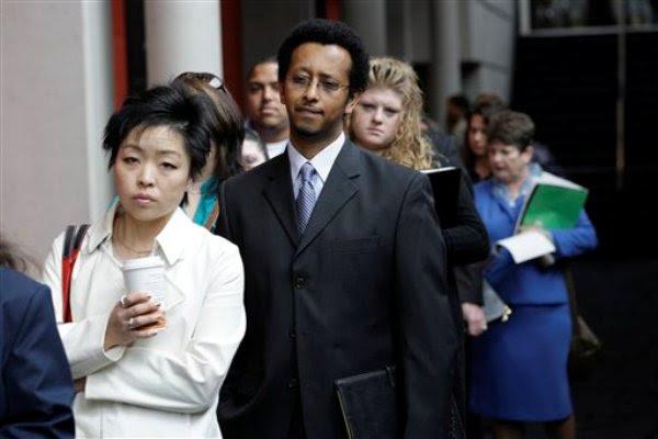 Resultado de imagen para desempleo en EEUU