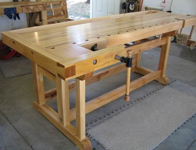 Cabinet Makers Workbench Plans Craig Gritton