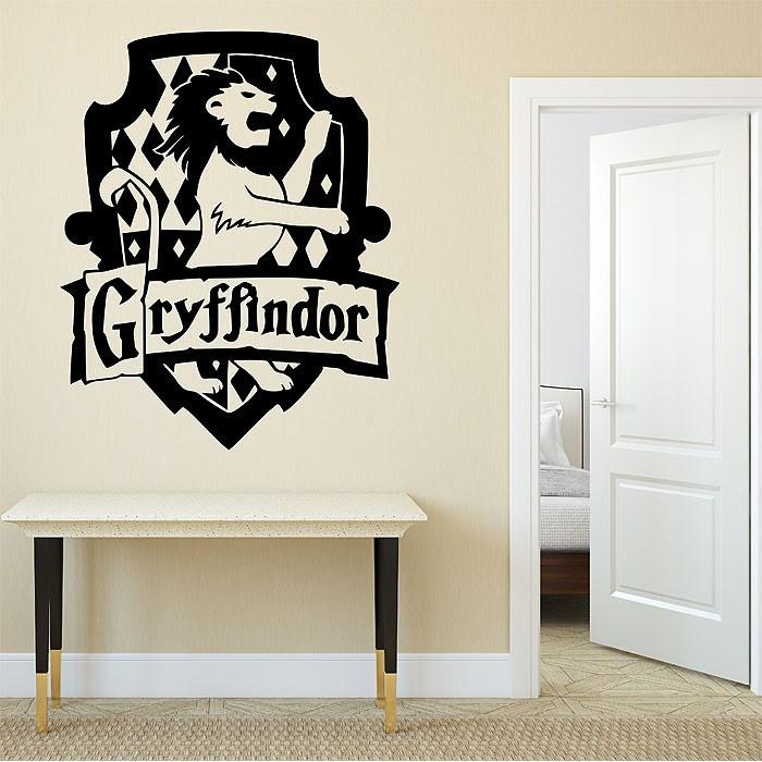 Haus Gryffindor Harry Potter Wandaufkleber Wandtattoo