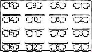 79 81 Chrysler New Yorker Fuse Box Diagram