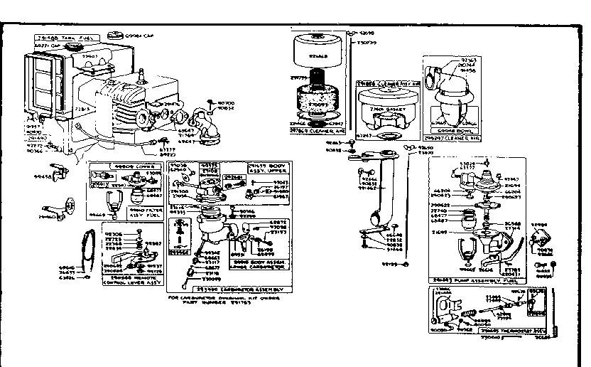 Briggs And Stratton Fuel Pump Diagram