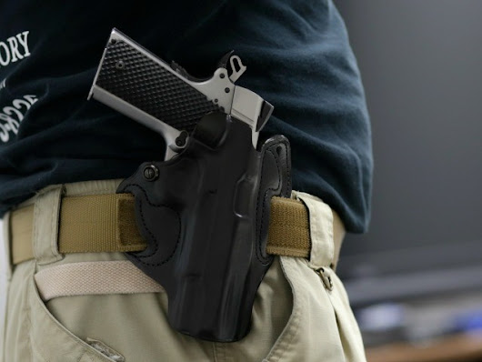 FBI: Handgun Murders Dropped when These States Abolished Concealed Permit Requirements