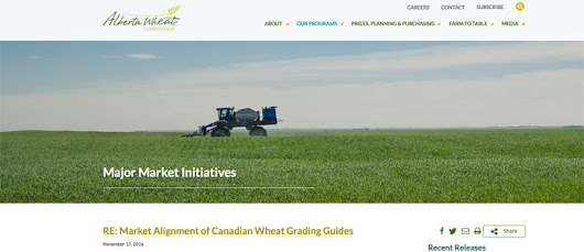 Alberta wheat growers call for improved grading system - The Western Producer