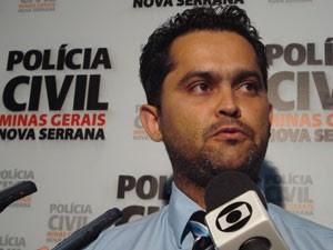 Delegado Polícia Civil Nova Serrana (Foto: Cléber Corrêa)
