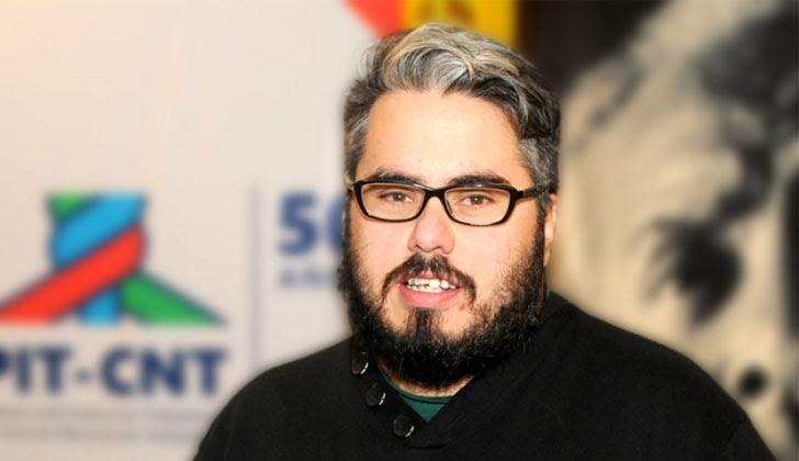 Presidente de la Federación de Funcionarios de Salud Pública (FFSP), Martín Pereira. Foto: PIT-CNT.