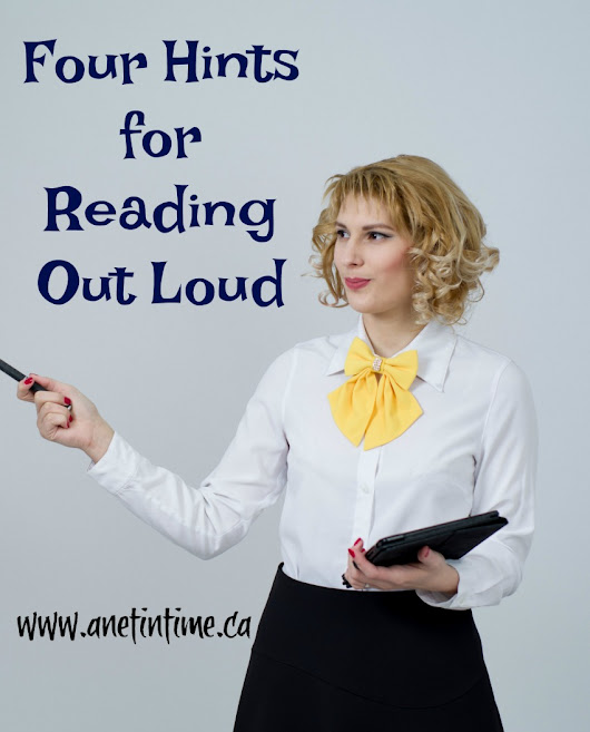 Four Hints for Reading Out Loud - A Net in Time