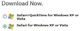Nice that Apple gives me a choice to not download QuickTime