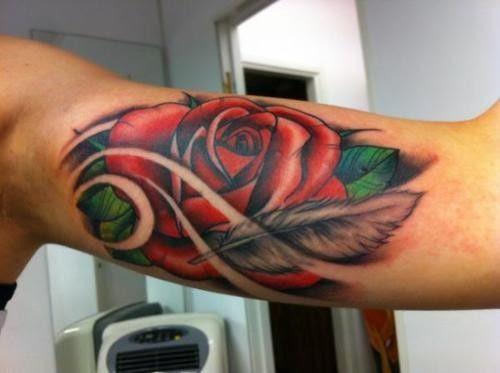 Tatuajes De Flores Rosas Rose Tattoos 9 Tatuajes Y Tattoos