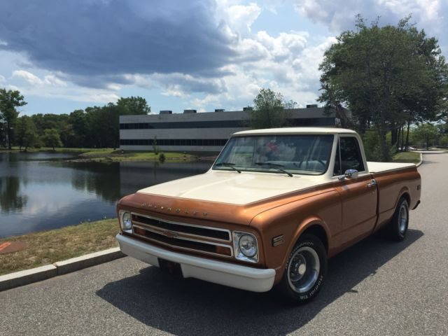 1968 Chevy C10 Short Bed Custom Two Tone Paint Show Truck For Sale