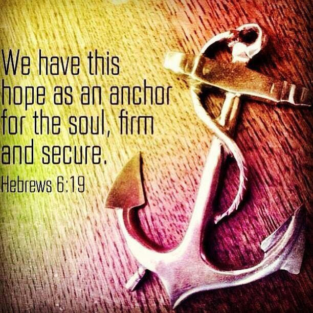 [Photo of an anchor with words superimposed]