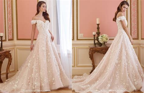david tutera wedding dresses review  elnora bridal gown