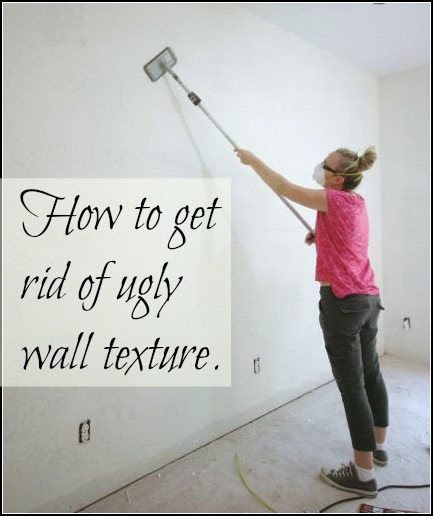 How to get rid of ugly wall texture