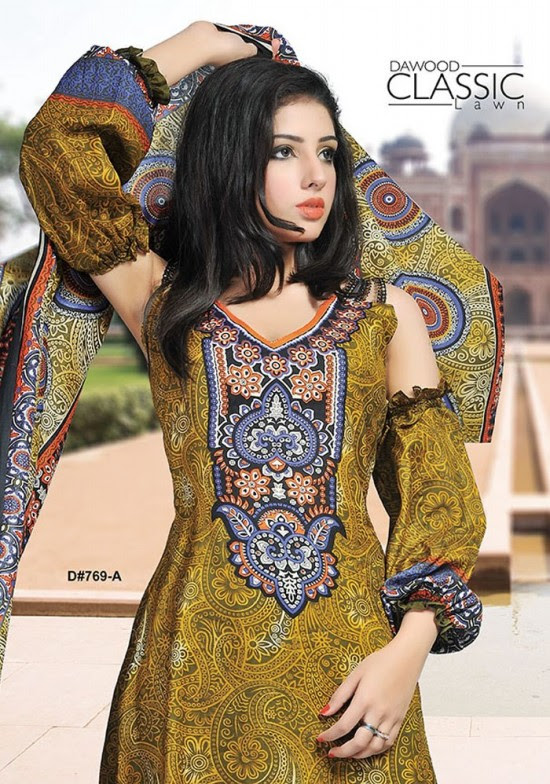 Dawood-Textile-Classic-Lawn-Collection-2013-New-Latest-Fashionable-Clothes-Dresses-19