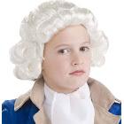 Child Colonial Boy Wig (White)