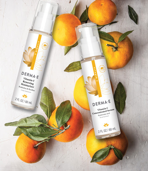 Try Our New! Vitamin C Renewing Moisturizer and Concentrated Serum
