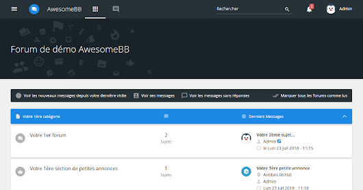 Check out the new AwesomeBB version