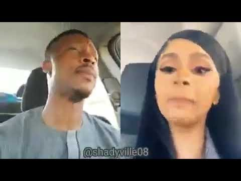 Man Accurately Mimics Cardi B