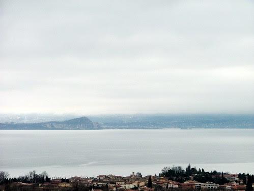 rocca di manerba - isola del garda  after the rain 26 february 2010