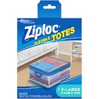 Ziploc Flexible Totes -1ct (XL)-10gal, Blue