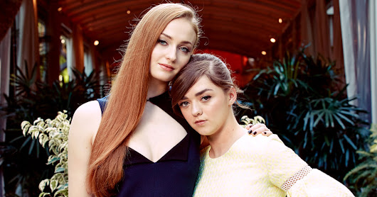 Sophie Turner and Maisie Williams Have Grown Up on 'Game of Thrones' - NYTimes.com