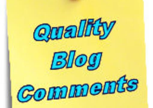 I will write excellent quality comments on 10 of your blog posts