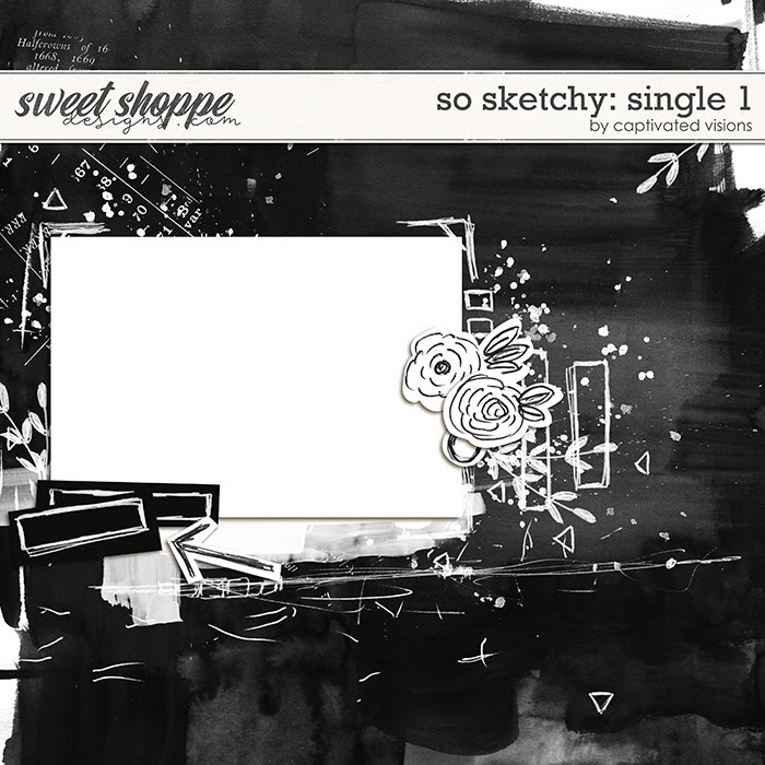 So Sketchy: Single 1 by Captivated Visions
