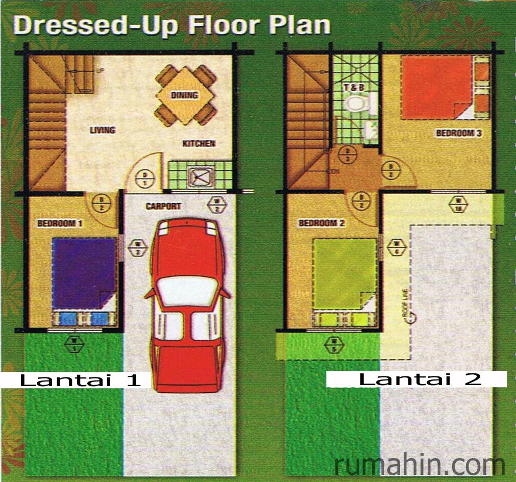 Renovasi Rumah Minimalis Type 36 1 Lantai | Desain Rumah ...
