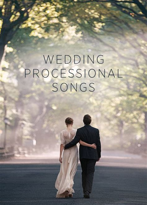 TOP 10 WEDDING PROCESSIONAL SONGS   crazyforus