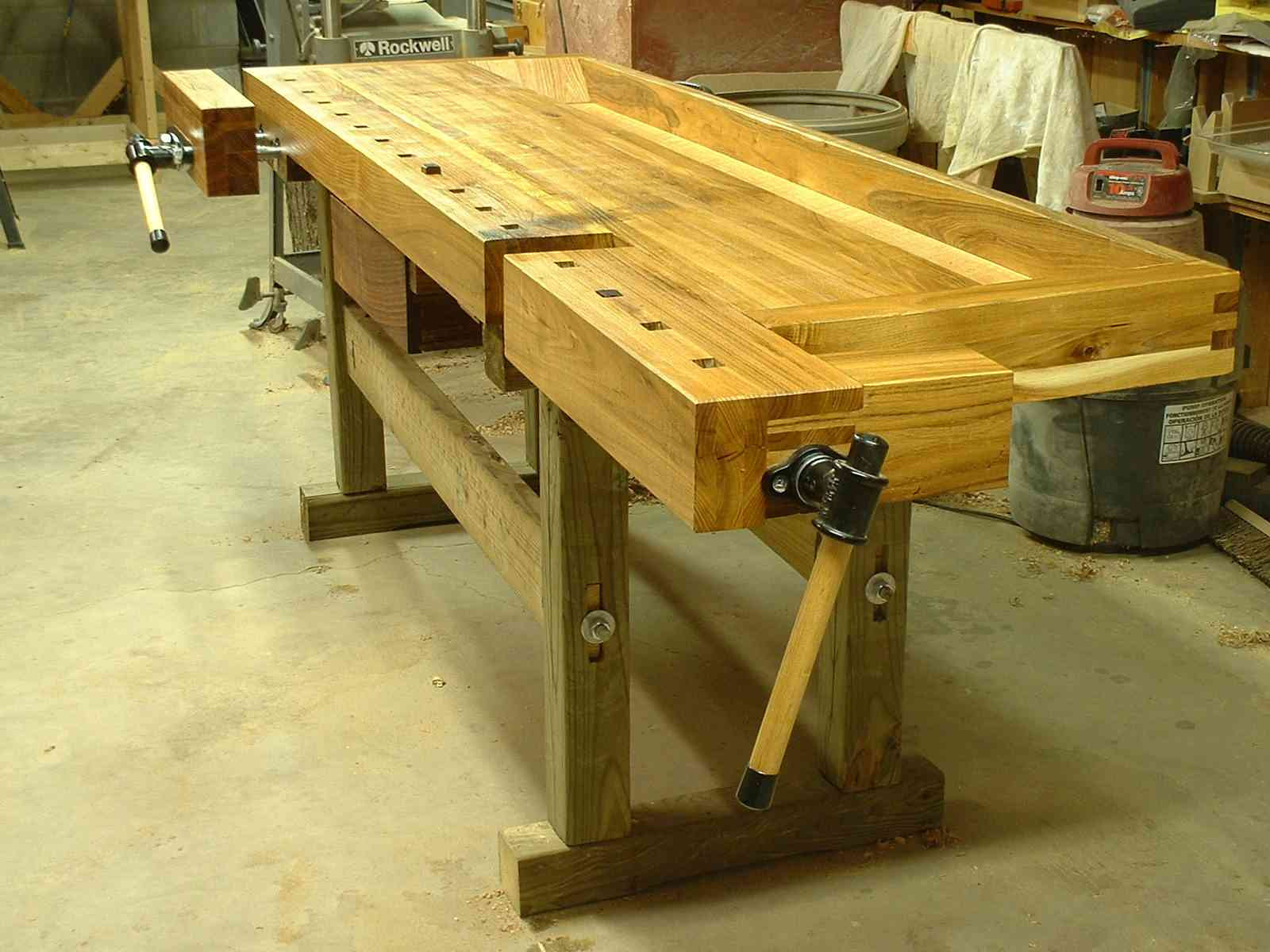 European Workbench Plan Wood Working Projects