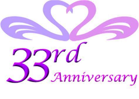 33rd wedding anniversary gift ideas   Perfect 33rd