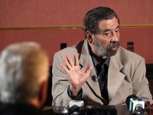 Paulo Malhães falou à Comissão Nacional da Verdade  (Foto: Marcos Arcoverde / Estadão Conteúdo)