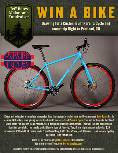 Help Jeff, Win Bike by pereiracycles