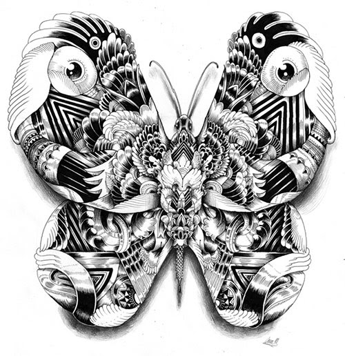 08 AnimalDrawing in Incredibly Amazing Animal Illustrations by Iain Macarthur