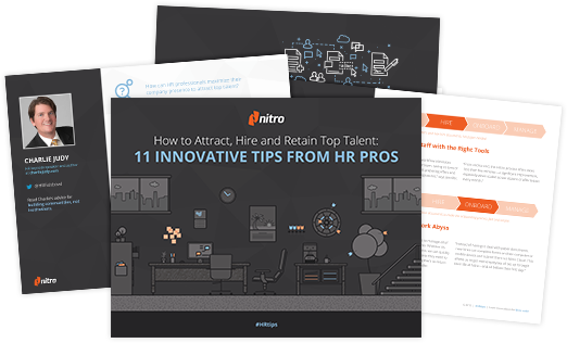 HR Tips on How to Attract, Hire, and Retain Top Employees | Nitro