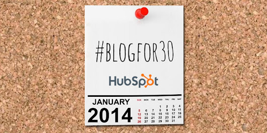 25 Insights from 30 Days of Blogging - Marketplicity