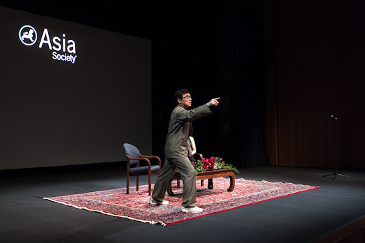 Jackie Chan in Asia Society New York |
