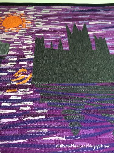 My Monet stitching