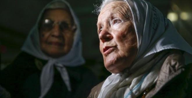 Nora Cortiñas, en una foto de archivo. EFE