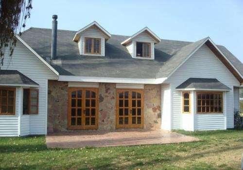 Casas de madera prefabricadas casa tipo canadiense - Casas prefabricadas opiniones ...