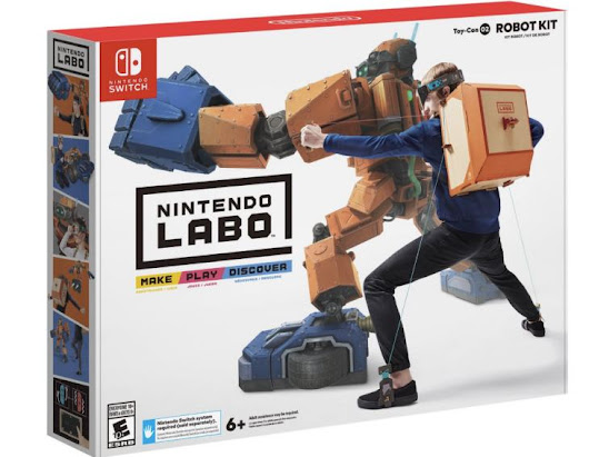 Nintendo Labo US price, pre-order preview with UK difference