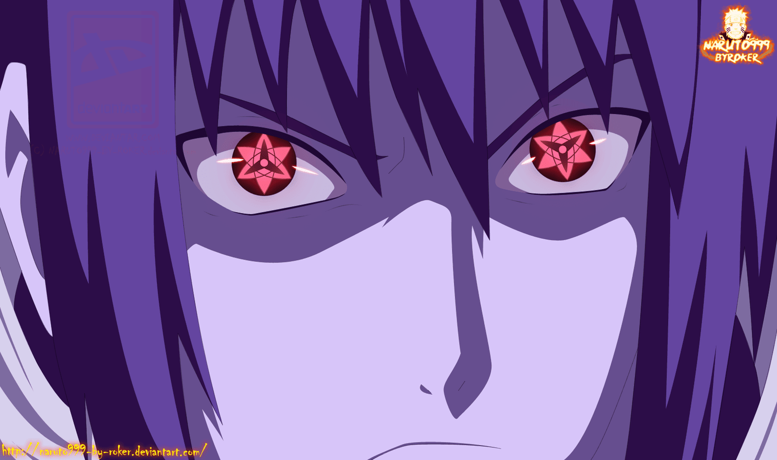 Naruto Shippuden Sasuke Mangekyou Sharingan