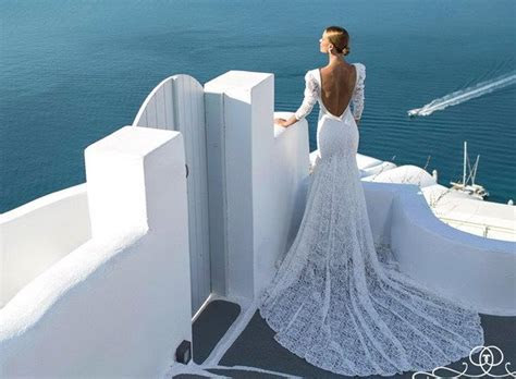 Santorini Collection: Wedding Dresses For Sensual Brides