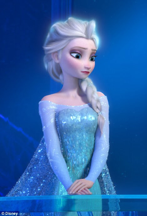 Queen Elsa of Arendelle, who was voiced by Broadway star Idina Menzel