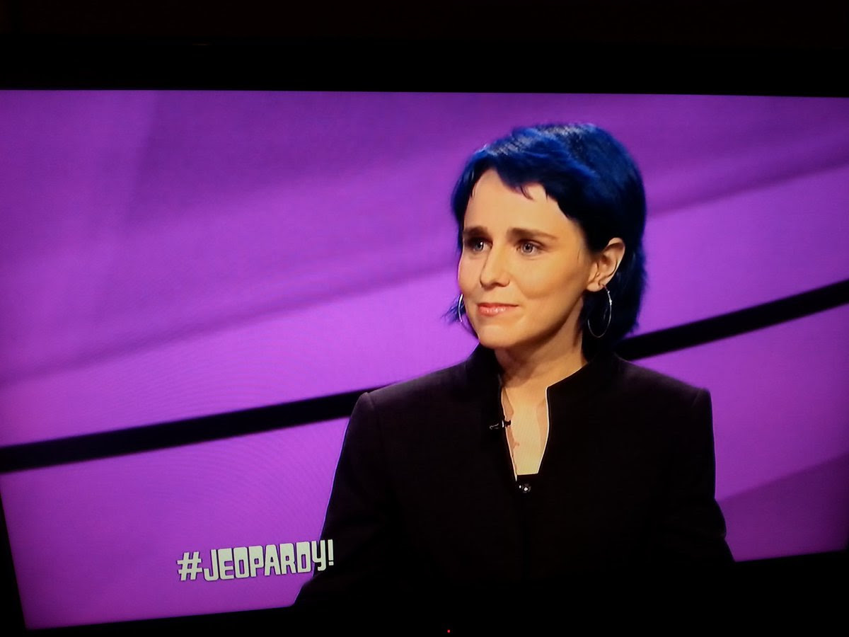 erica dreisbach on Jeopardy | 30 september 2016