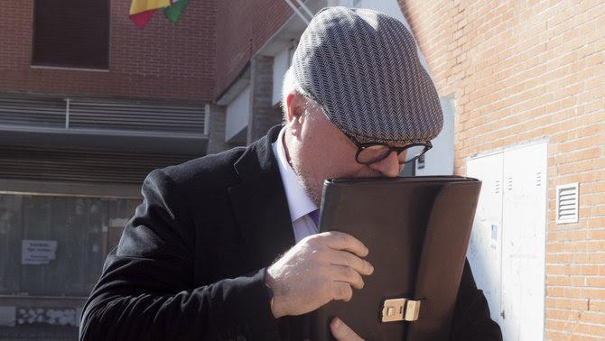 Villarejo, quan va declarar al febrer sobre l'àtic de l'expresident de Madrid Ignacio González (EFE)
