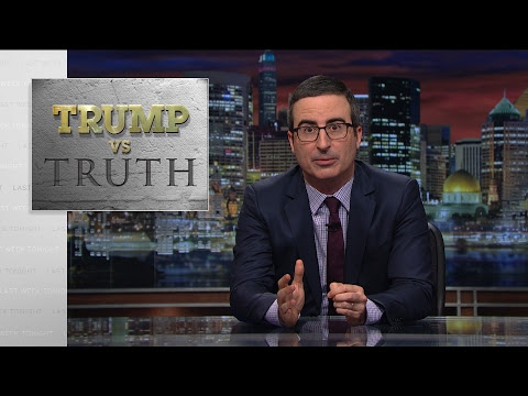 Trump vs. Truth: Last Week Tonight with John Oliver (HBO) • /r/television