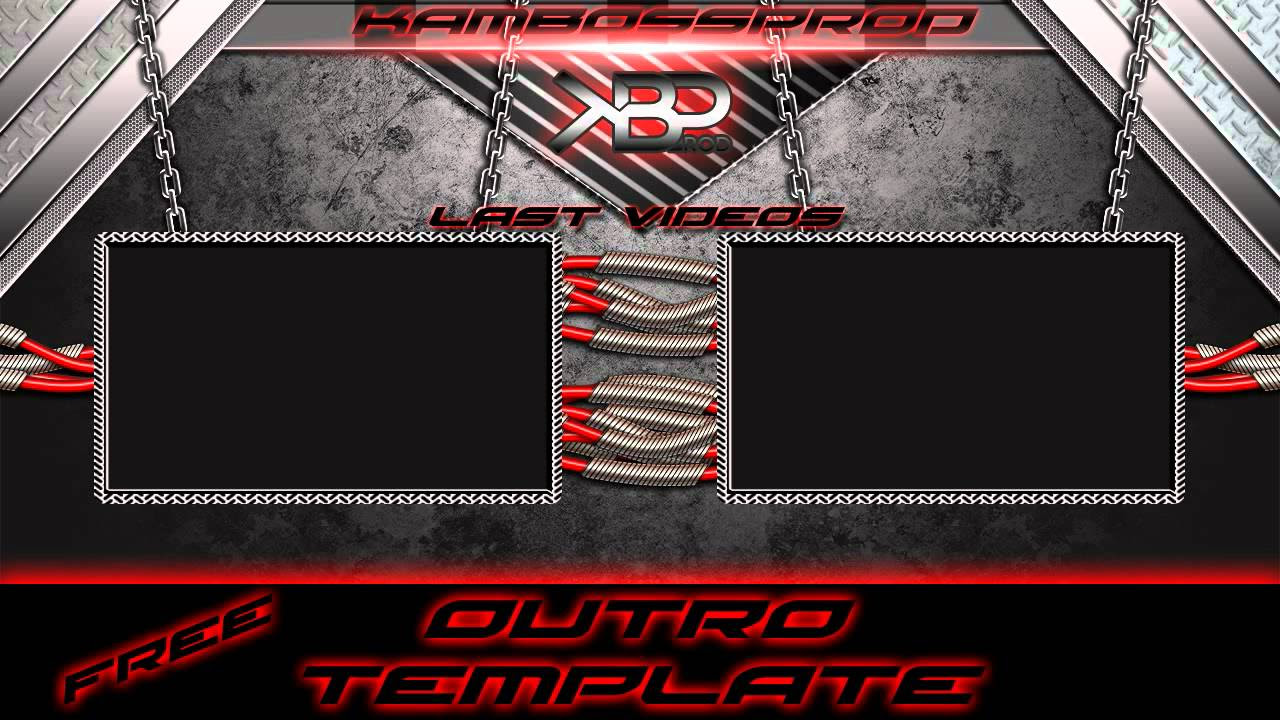 Free Outro template [After Effect] By KBP - YouTube