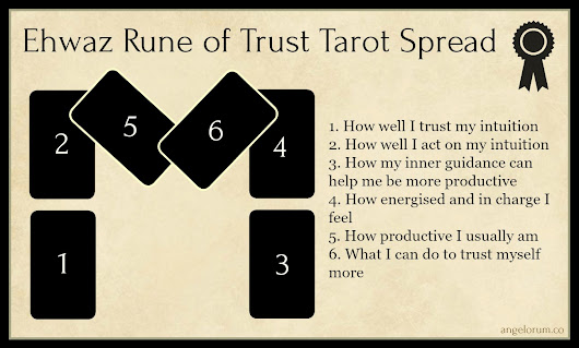 Ehwaz Rune Tarot Spread ⋆ Angelorum - Tarot and Healing