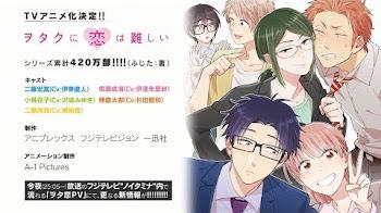 El manga Otaku ni wa Koi wa Muzukashii tendrá un anime